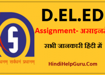 deled assignment kaise banye